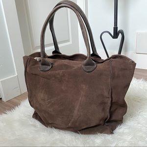 MJUS Italian designer leather tote